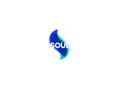 Soul logotype flow mark visual identity brand identity sophisticated solid health soul shapes logo logomark