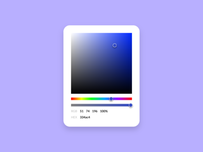 #060 – Color picker dailyui ux ui picker color color picker