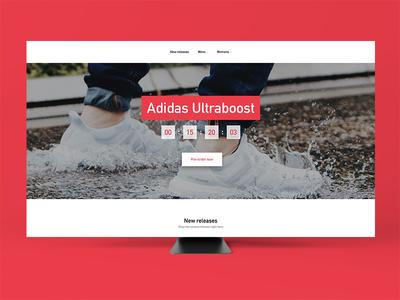 #075 – Pre-order order pre pre-order countdown sneakers ux ui dailyui
