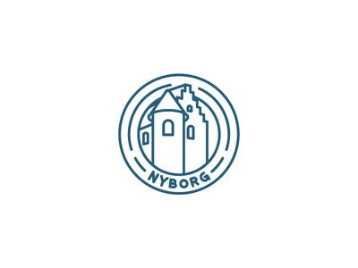 #084 – Badge geofilter denmark castle badge ui dailyui