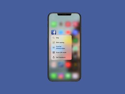 #090 – Create new new create facebook touch force ux ui dailyui