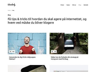 #094 – News development blog news ux ui dailyui