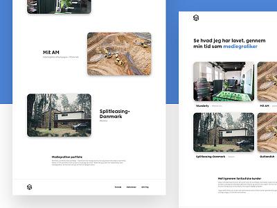 Portfolio design & development portfolio development ux ui