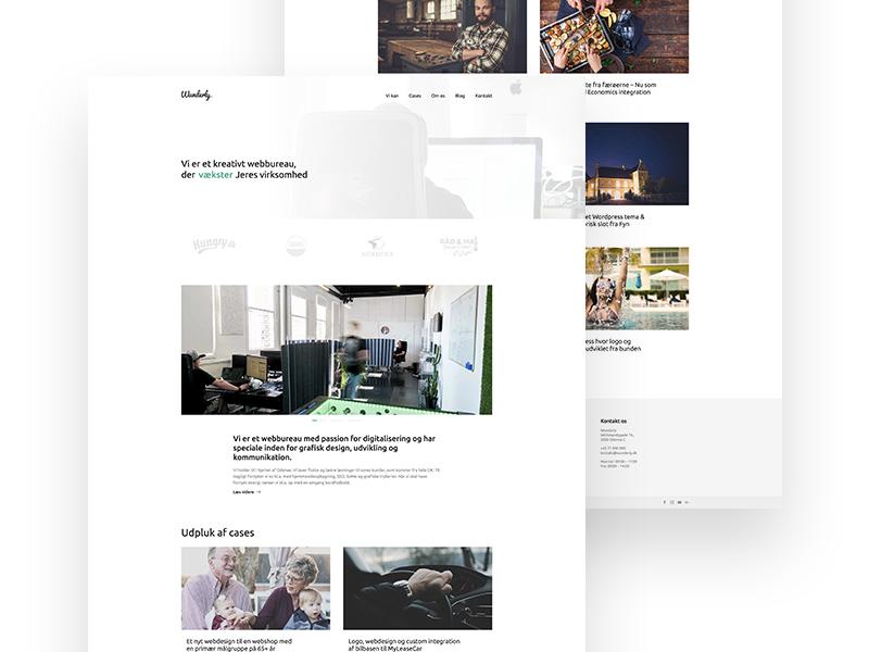 Wunderly – A creative agency development wordpress ux ui agency creative wunderly