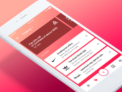 042 Offer screen mobile app screen illstration ios design dribbble ux ui