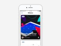 Behance iOS design!