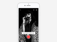 Camera Flow video photo apple gallery android ios stories camera