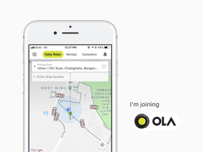 I'm joining OLA!! interaction design design product desinger new job joining