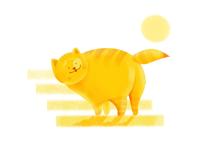 Another chubby happy cat
