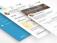 Redesigned CRM app