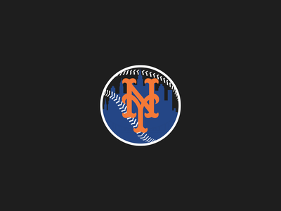 NY Mets Logo SNY Inspired queens nyc sny baseball mets