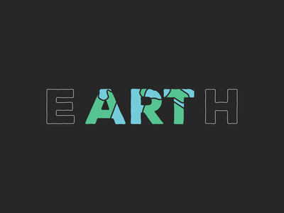 Art is always at the center of great things. inside discovery art earth