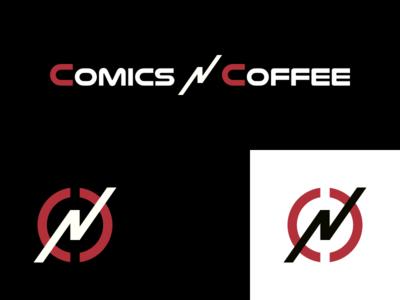 Comics 'N' Coffee Logo