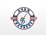 Evan barbers Logo Concept 02
