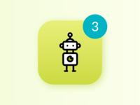 Marketing Bot Icon