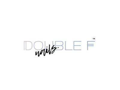 Double F nails salon logo