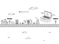 Arsel Landing Page Illustration Part II