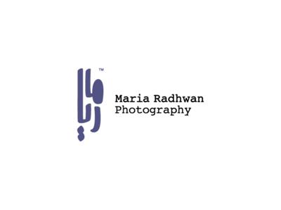 Maria Photography Typography Logo