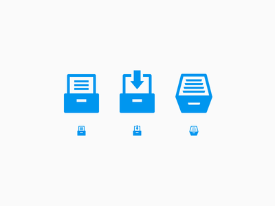 Archive Icons Options