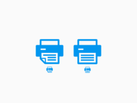 Print Icon Options