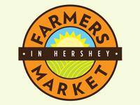 Farmers Market Concept Logo, Version A