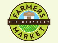 Farmers Market Concept Logo, Version B
