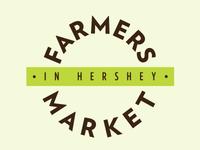 Farmers Market Concept Logo, Wordmark Alternate