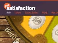 Get Satisfaction (1 of 8)