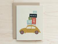 Beetle Holiday Card