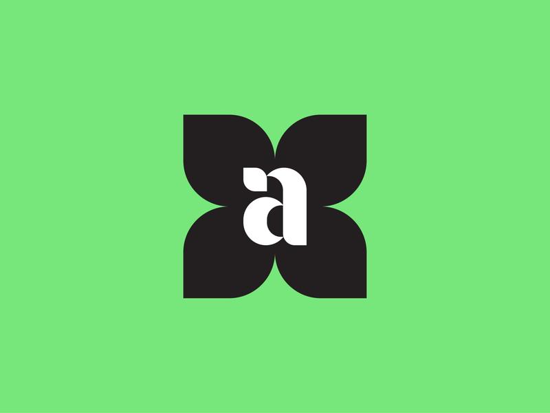anna – a cannabis brand type mark icon logo