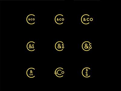 Visual Identity Exploration circle design identity visual wordmark logo branding brand
