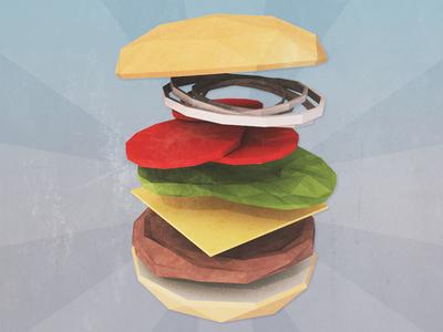 Hamburger!?