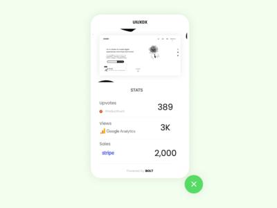Open startup Widget