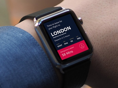 WatchOS Travel App