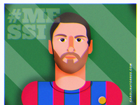 Messi Illustration