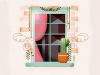 Window Illustration