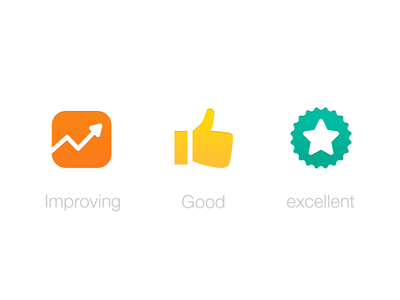 App Icon ios iphone icons improving good excellent rating india bangalore i2fly glyphs orange