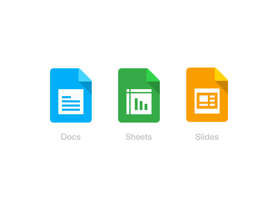 Document Icon sheets slide bangalore india design treevivek i2fly document ios iphone icon google apps logo vector doc ui
