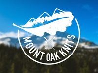 Mount Oak Knits - Logo design