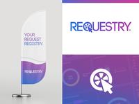 Requestry logo design - Branding project