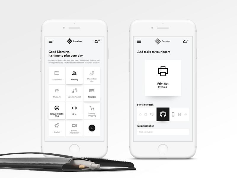 Task Planner App Concept