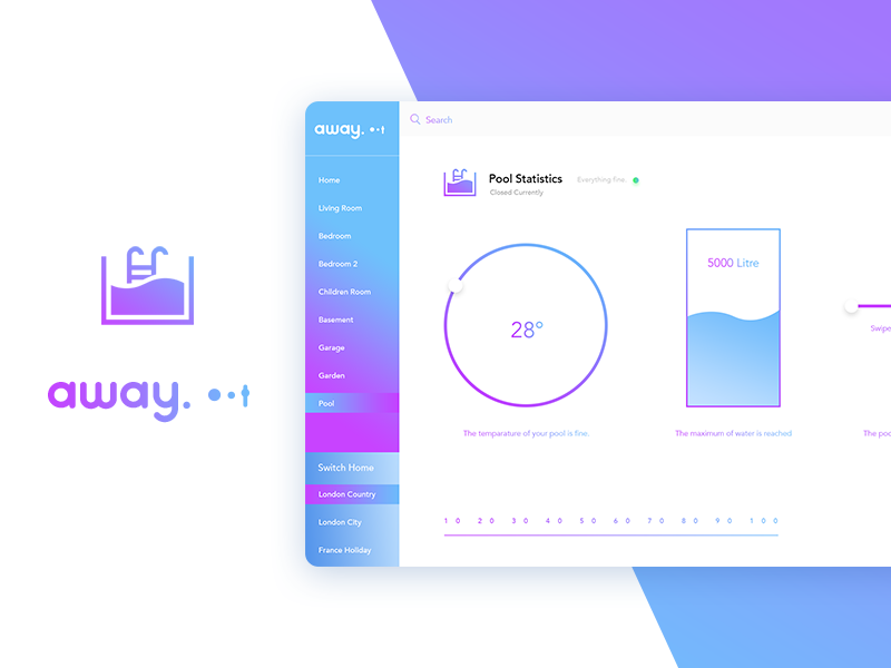 Away - Smart Home Dashboard