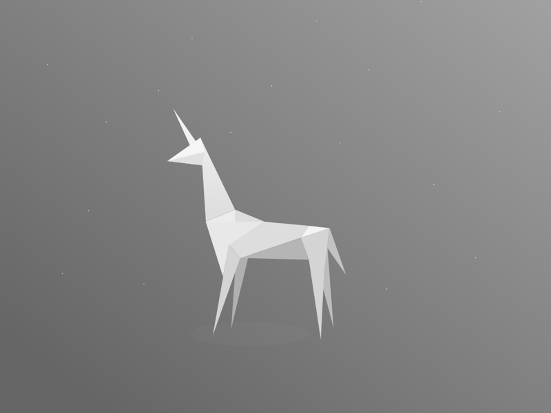 Blade Runner Origami Unicorn By Jess Lam Dribbble