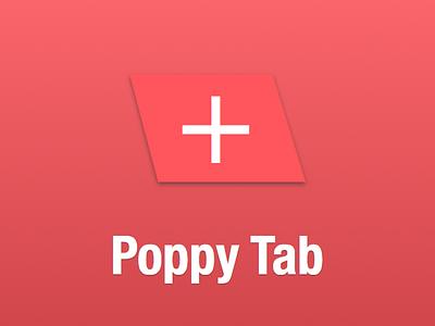 Poppy Tab Play Store Tile memes instagram 9gag reddit web chrome extension browser plugin play store logo chrome