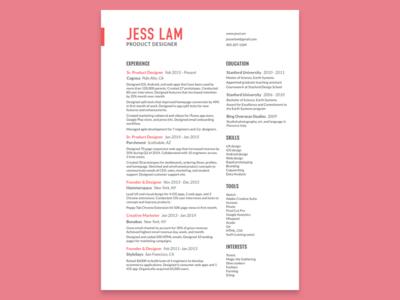 Refreshed Resume cv jobs print personal branding branding layout resume