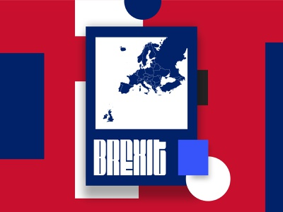 Unhappy Brexit Day digital design january england white blue red poster union europe liverpooldesigner design uk britain eu brexit