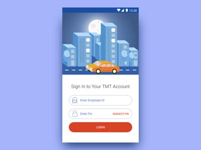 Login for Transportation App