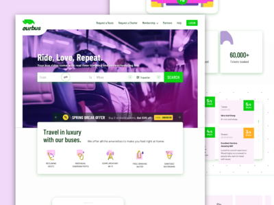 Ourbus Homepage Revamp