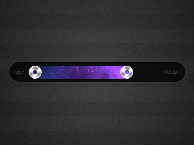 Fancy sliders + toggles slider toggle progress bar loading pixel perfect