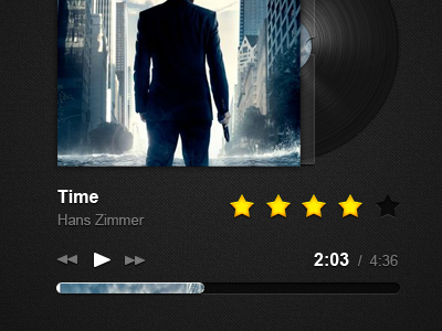 Music Player music player inception controls ratings